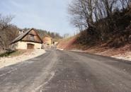 Nova asfaltna cesta Breško Orehovica