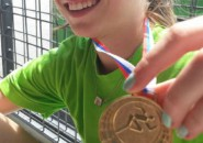 Nina Rman drzavna prvakinja v metu vortexa